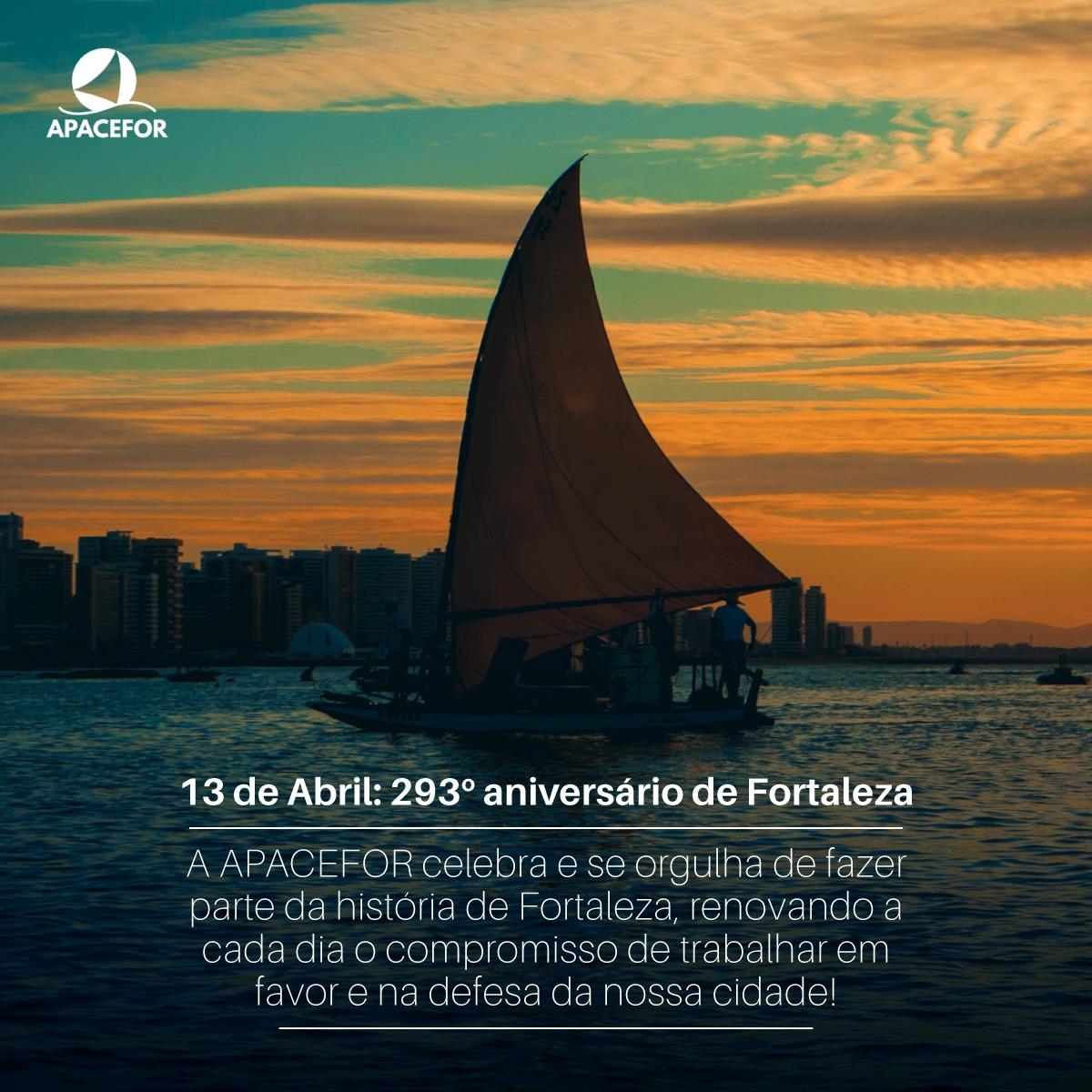 Parabéns Fortaleza, pelos seus 293 anos!