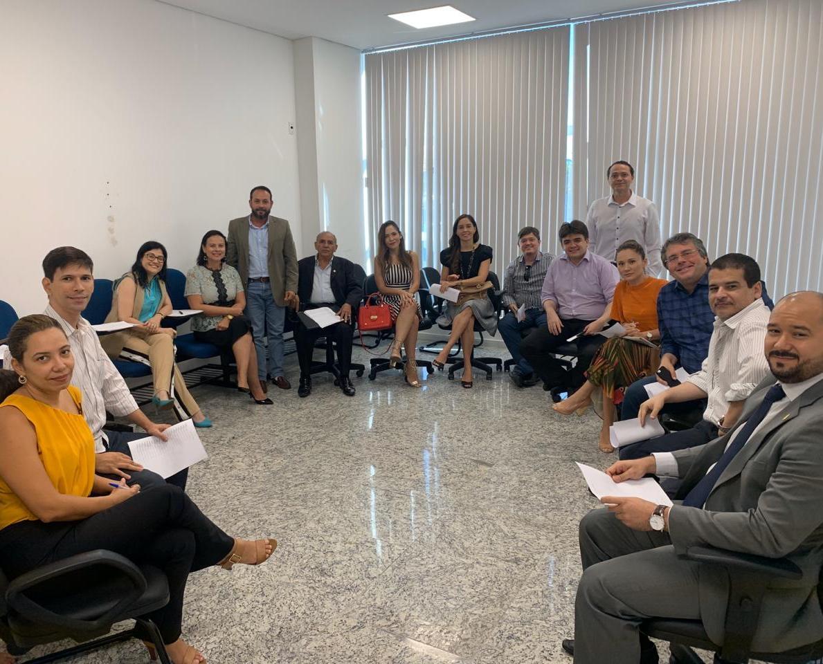 Vice-presidente da APACEFOR participa de reunião com representantes de diversas carreiras da Advocacia Pública